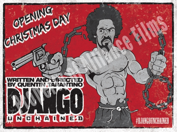 Django Unchained Sticker