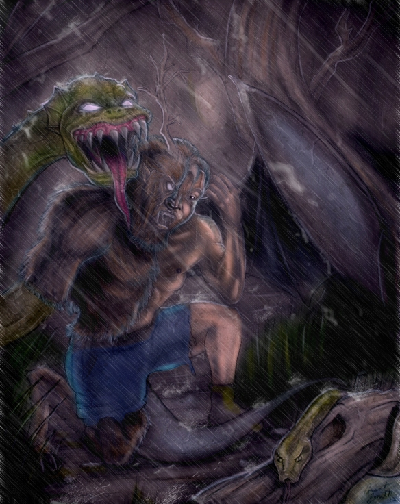 cryptozoic man rain